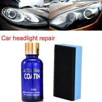 30ml Auto Headlight Polishing Fluid Restoration Car Scratch Repair Coating Tool