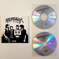 MADEMOISELLE K : LIVE ♦ DVD + CD Album Promo ♦