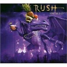 "RUSH ""LIVE IN RIO"" 3 CD SET 31 TRACKS NEW+"