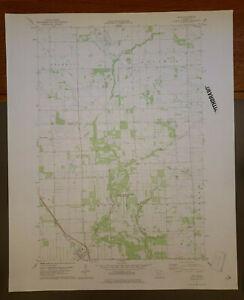 "Rice, Minnesota Original Vintage 1978 USGS Topo Map 27"" x 22"""