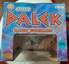 "BNIB COLLECTORS DOCTOR WHO CLASSIC DALEK RADIO COMMAND 12""  FACTORY SEALED BOX"