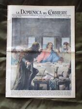 La Domenica del Corriere 13 Giugno 1954 Cenacolo Caso Montesi Nazionale Italia