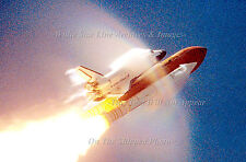 "Poster Print 24"" x 36"" Space Shuttle Atlantis Super-Sonic, Cape Canaveral, 2000"