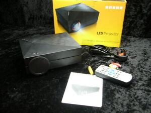 LED Projector Stoga GM60 Black AV VGA USB SD Micro USB TFT LCD