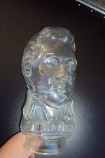 Elvis Glaskopf Kopfhörer, Perücke, Hutständer - Hüte-Kopf-Glas-Kristall-Glas