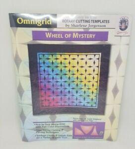 Omnigrid Quilting Templates Wheel of Mystery rotary cutting acrylic Jorgenson