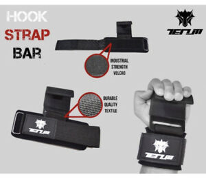 Gym Straps Hook bar Power Weight Lifting Training Wrist Support Lifting Glove