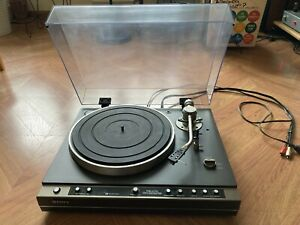 Sony PS-X70 Turntable, Works, See Video