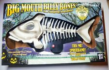 Big Mouth Billy Bones Bad to the Bone Singing Fish Skeleton Animated