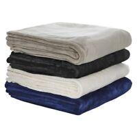 Bianca 350GSM Ultra Soft Velvet Blanket King Size