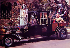 """The Munsters Coach Poster 13x19"""" Dragula Color Print"""