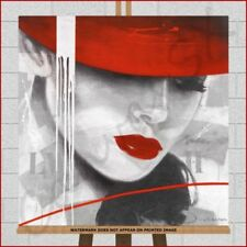 Large (up to 60in.) Red Modern Art Prints