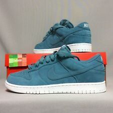 Nike Dunk Basso UK10 896176-002 EUR45 US11 Blu Bianco Extra SB Air Blazer Force QS