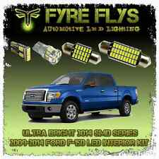 11 White LED interior lights package kit for 2009-2014 Ford F-150 FS2CR3