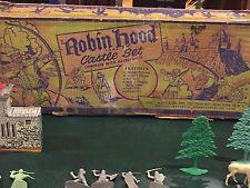 Marx Robin Hood Castle Play Set Box #4720