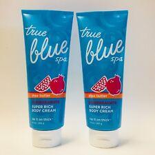 2 Bath&Body Works Azul Verdadero SPA GRANADA Karité Súper Rico Crema Corporal