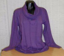 Damenblusen, - tops & -shirts mit Rollkragen aus Viskose in Größe 46