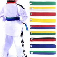 Karate Belt Martial Arts Judo Taekwondo hapkido Jujitsu aikido double wrap Charm