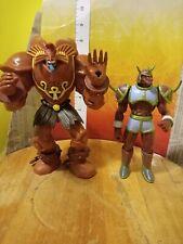 "1996 Mattel Yu-Gi-Oh! Exodia The Forbidden One 7"" & Battle ox Figure lot rare"