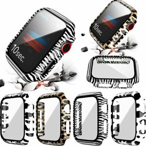 For Apple Watch Series SE 6/5/4/3 Full iWatch Screen Protector / Cover Case