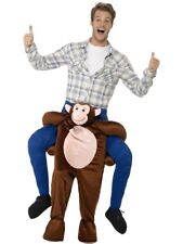 Monkey Piggy Back Ride On Me Mascot Mens Fancy Dress Carry Costume Stag Do
