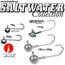 Saltwater Collection Meeres - Jighaken Set von 75g bis 220g