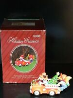 Vintage 1998 Eckerd Holiday Classics Christmas Emergency Lighted Tree Ornament