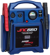 Automotive Jump-N-Carry 1700 Peak Amp 12 Volt Jump Starter Charger Jaw Clamps