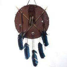 Indian Style War Shield Crossed Arrows Southwest Decor