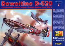 RS Models 1/72 DEWOITINE D-520 French WWII Fighter