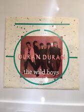 "DURAN DURAN/The Wild Boys b/w Cracks...Pavement 45rpm 7"" VinylB 5417.in Mint C."