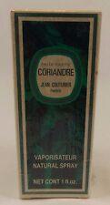 Vintage Jean Couturier Paris Coriandre Eau De Toilette 1 fl oz NEW Sealed Box