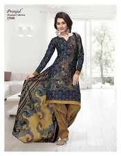 Salwar Kameez Indian Unstitched Dress Material Ethnic Wear Punjabi Suit 1540