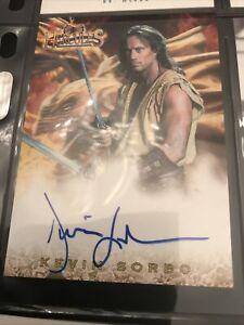 Hercules Kevin Sorbo as Hercules Auto Card