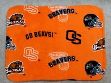 Fleece Standard (Twin) Pillow Cover - College Football - Oregon State Beavers