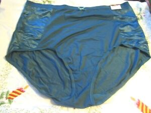 NEW Lane Bryant CACIQUE Emerald Green High Waist Brief Panties in Size 26 28 3X