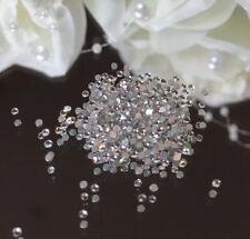 50 Swarovski Clear  Crystals. Amazing Shine Promised. Nail Art Decor 1.6mm