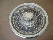 "77 78 79 Chevrolet Impala Hubcap Rim Wheel Cover Hub Cap 15"" WIRE 3083D OEM USED"