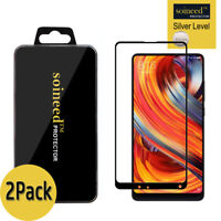 [2-Pack] SOINEED Xiaomi Mi Mix 2/ 2S FULL COVER Tempered Glass Screen Protector