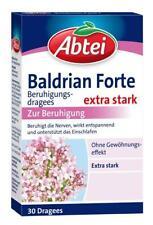 Abtei Baldrian Forte Beruhigungsdragees, extra stark 30 St PZN: 0270076