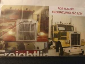 FREIGHTLINER FLC PHOTO ETCH GRILL AND EMBLEMS  WHITE OR FREIGHTLINER