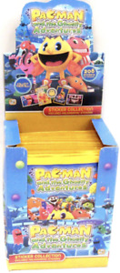 60x PACMAN AND THE GHOSTLY ADVENTURES STICKERS COLLECTABLE FUN GAMES TOY KIDS