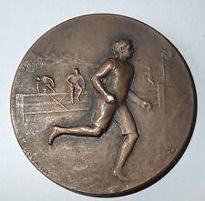 Medaille course a pieds BRONZE signée RASUMNY (366 J)