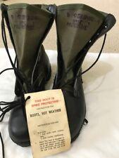Vietnam Era Spike Protective Jungle Boots US GI New 8Reg. Panama Sole