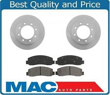2005 2006 2007 Ford F350 4X4 DRW Front Brake Rotors & Pads