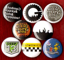 MYSTERY SCIENCE THEATRE 3000 8 NEW button pin badge MST3K