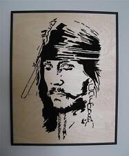 Original Jack Sparrow Pirates of the Caribbean Johnny Depp Pop Art Portrait