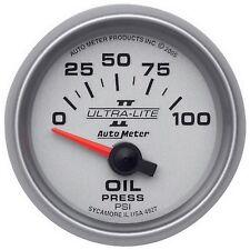 AutoMeter 4927 Ultra-Lite II Electric Oil Pressure Gauge