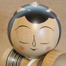 Traditional Kokeshi KENDAMA HAKUSUI Cup and Ball Bilboquet 5.9inch JAPAN NEW
