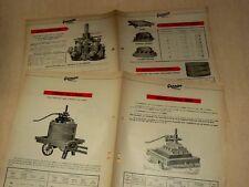 Prospectus PRESSOIR VIN WINE GARNIER Tracteur brochure tractor traktor prospekt
